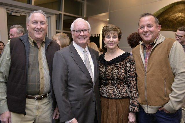Tom Essmyer, Larry Scroggs, Pat Scroggs and Mark McCowan