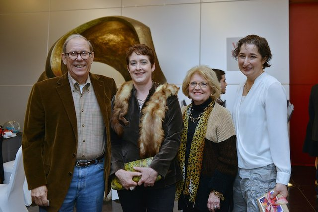 Charlie and Mickey Schaffler with Anne Canty and Karen Canty