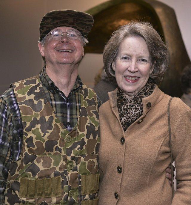Bill Falvey and Emily Woodside