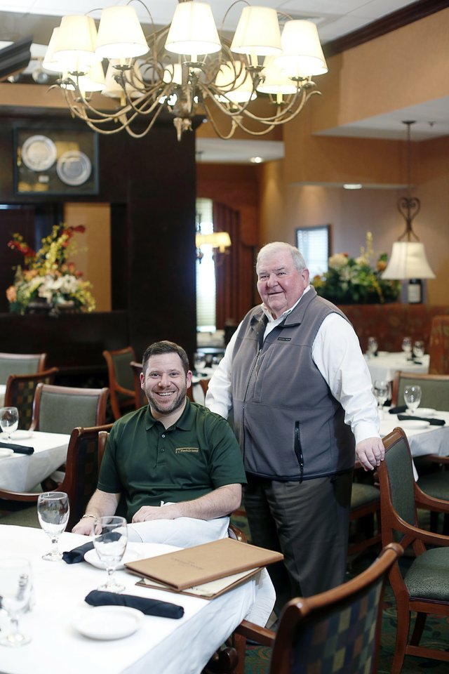Frank Grisanti and his son, Larkin, serve new dishes and long-standing favorites at their restaurant inside Embassy Suites.