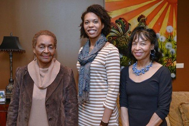 Patricia Lacey, Tiffany Futch, Dr. Beverley Taylor