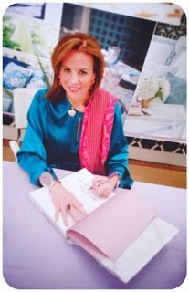 Jane shown signing her gorgeous best seller.