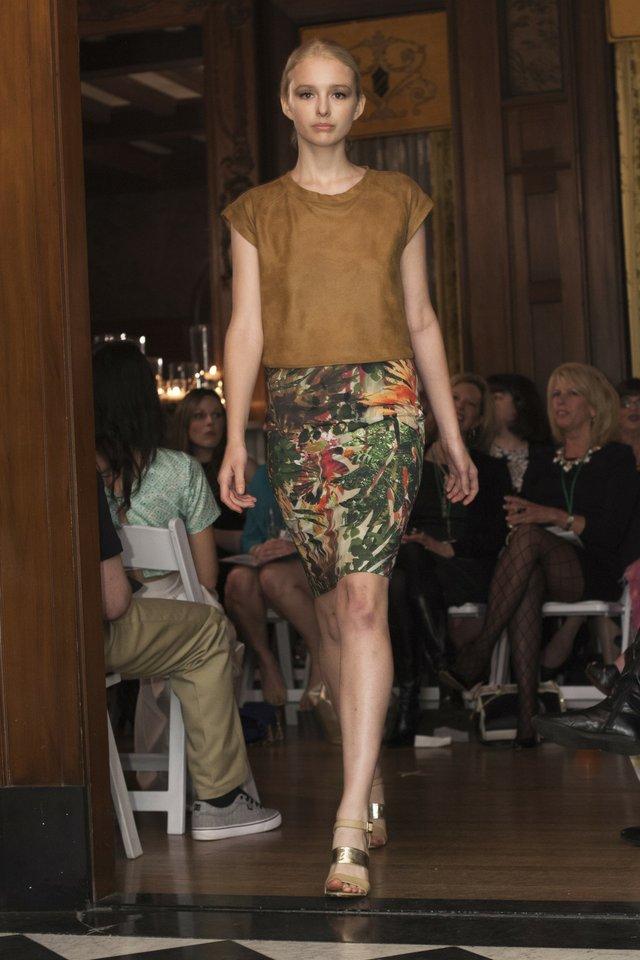 Waverly Grey, Memphis Fashion Week 2014