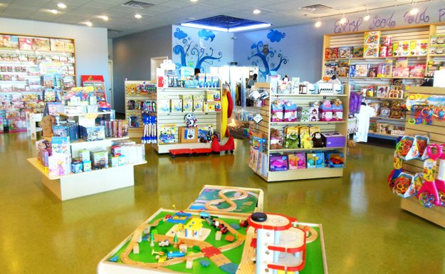 Creative toys like play putty and sand give children a different experience each time they play.