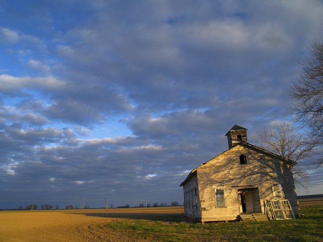 "The Church at Mont Helena, 2002. ""If I have a muse, this abandoned church is it. In its silence and decrepitude, it tells the story of the Delta."""