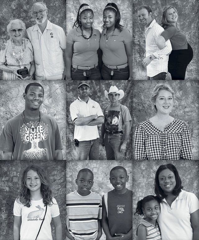 Memphis Legacy Project portraits, 2008. His goal was a simple one, to document the people the way they looked just then, that day, whether it was a man in a suit or a little girl in shorts and a faded T-shirt.
