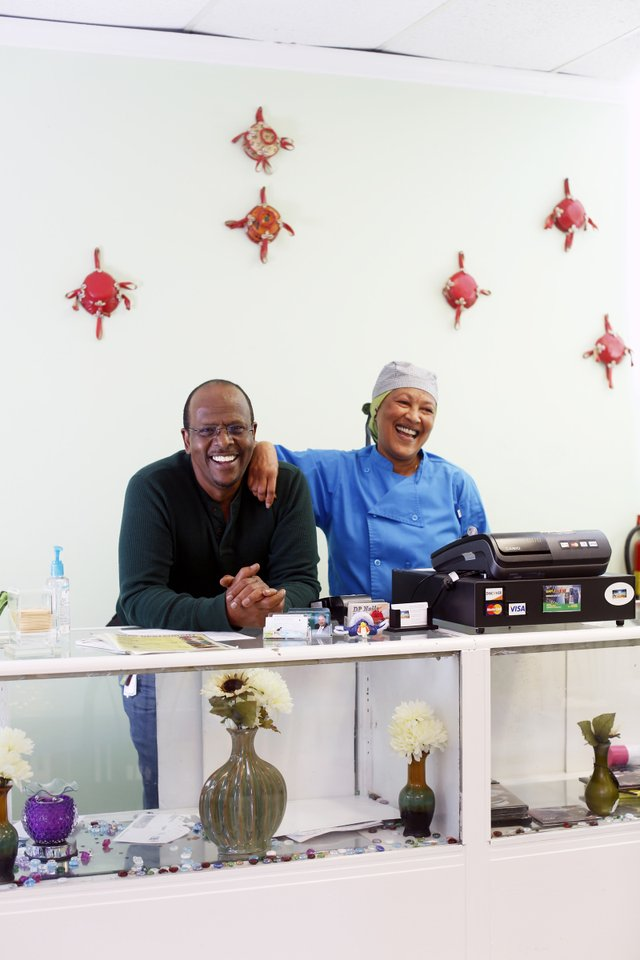 Derae Restaurant: Mohammed Omer and Zenub Abdurhaman are the charming and talented couple behind Derae.