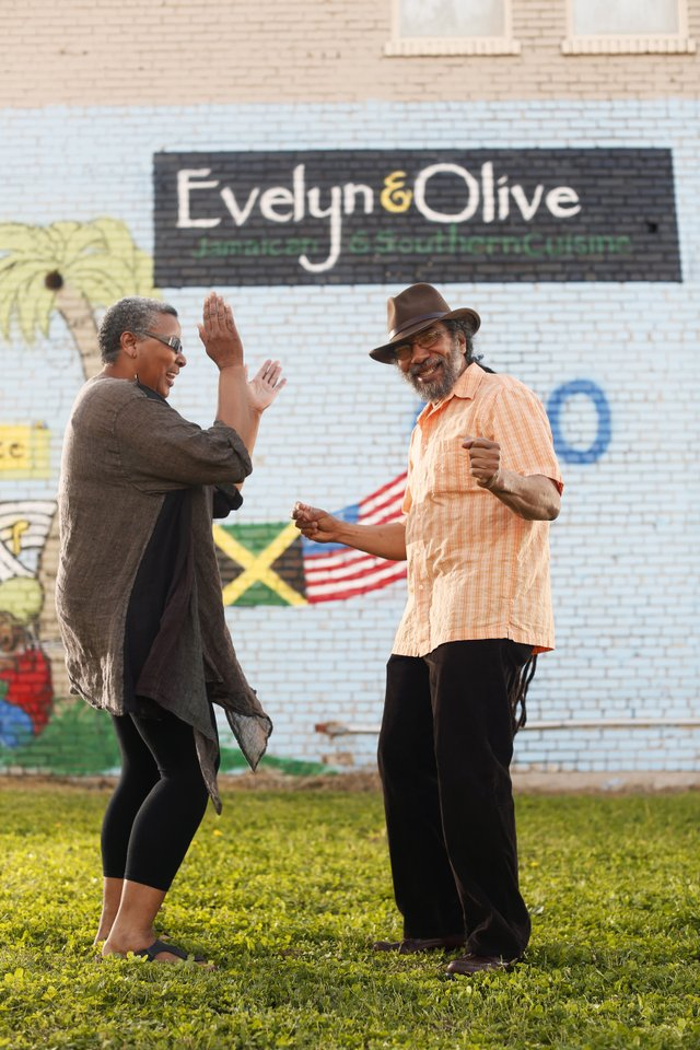 Evelyn & Olive: Vicki Newsom and Tony Hall liven up Madison Avenue with their Jamaican restaurant.