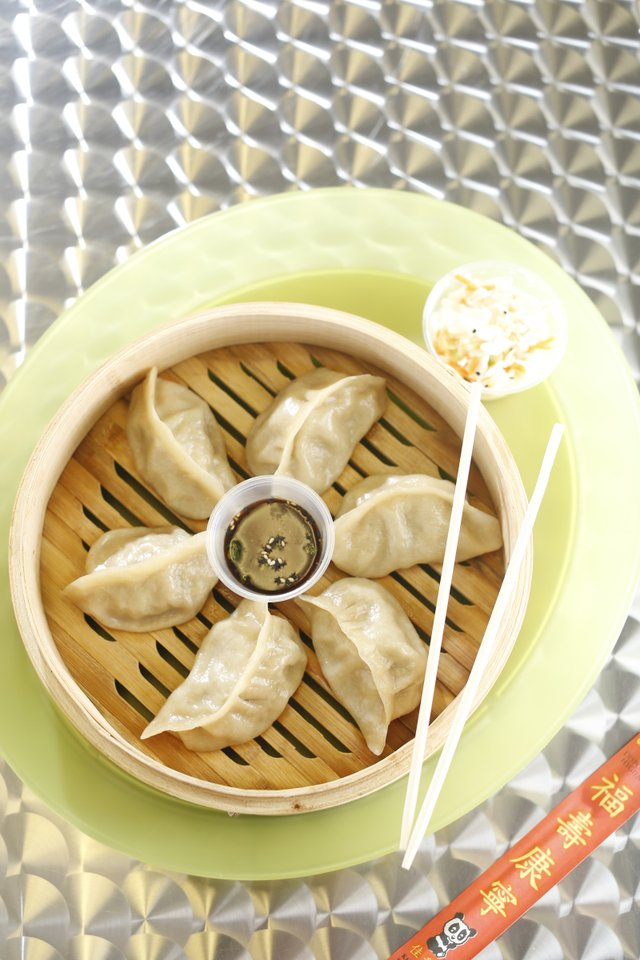 4Dumplings: Pork and napa cabbage dumplings are the restaurant's most popular.