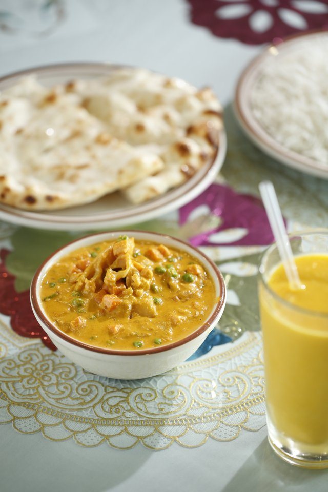 Mayuri Indian Cuisine: Curried potatoes and peas fill a crisp light crepe called masala dosa.