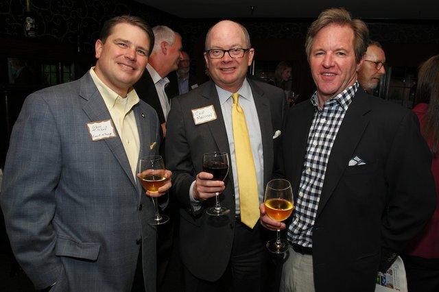 Glenn Mitchell, Chip Marston, David Thornton
