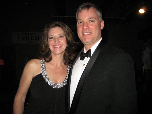 Bonnie Hollabaugh and Kit Chope