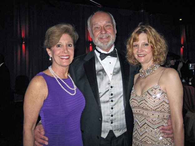 Betha Gill with Tom and Ellen Prewitt