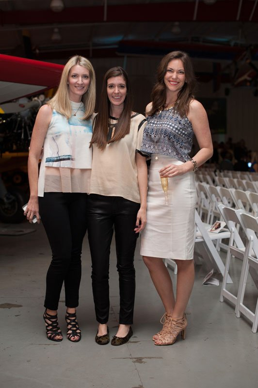 Lindsey Hedgepeth (MFW board member), Abby Phillips (MFW director), Addie McGowan(MFW board member)