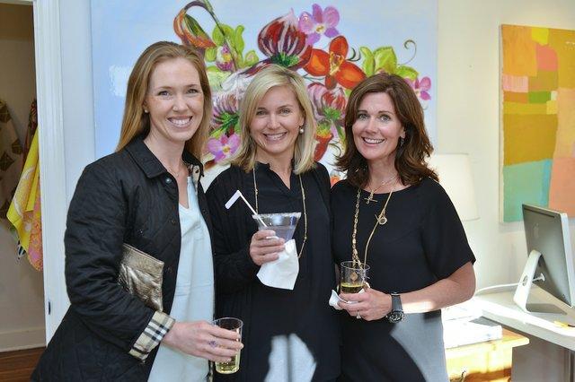 Kate Collins, Anne Wilson, and Julie Wunderlich