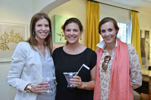 Maggie Phillips, Lindsey Tayloe, and Janet Kathryn Evans