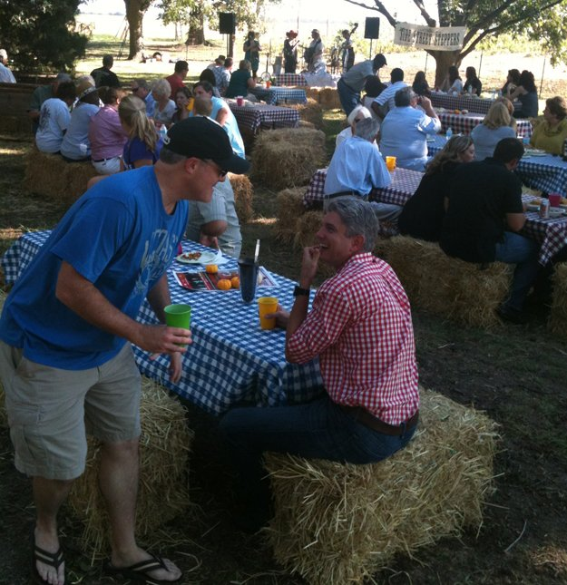 Event the Forrester's hosted at Whitton Farms.