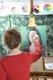 Glenda Brown completes her portrait