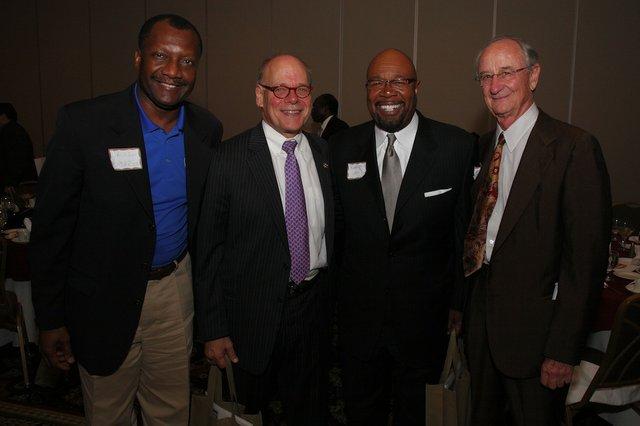 Calvin Anderson, Congressman Cohen, Roby Williams, Henry Turley