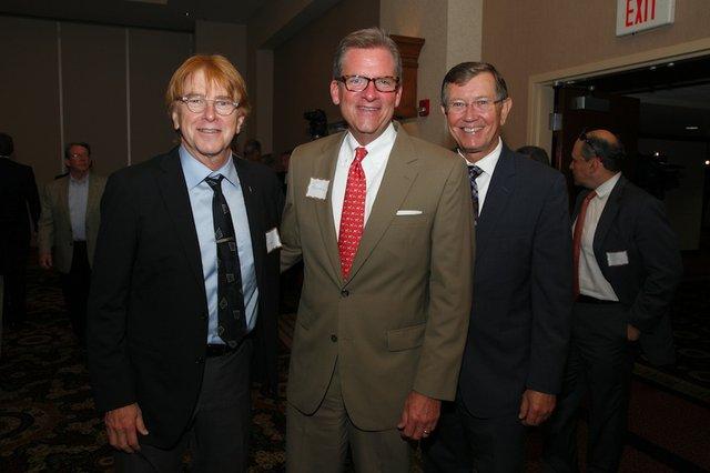Jon Hornyak, Scott Fountain, Phil Trenary