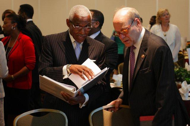 Mayor A C Wharton and Congressman Cohen