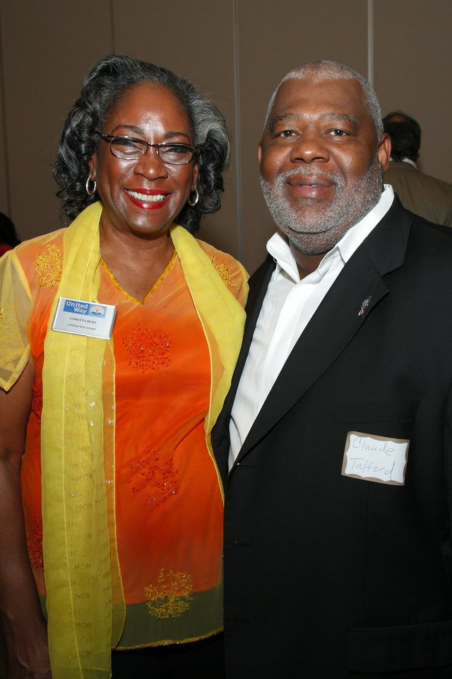 Loretta Hurt and Claude Talford
