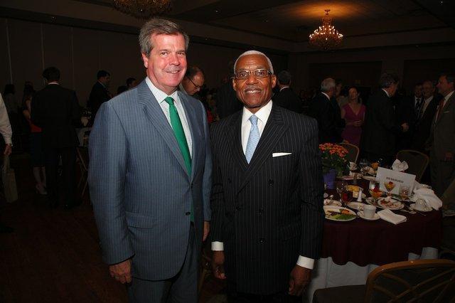 Mayor Karl Dean and Mayor A C Wharton