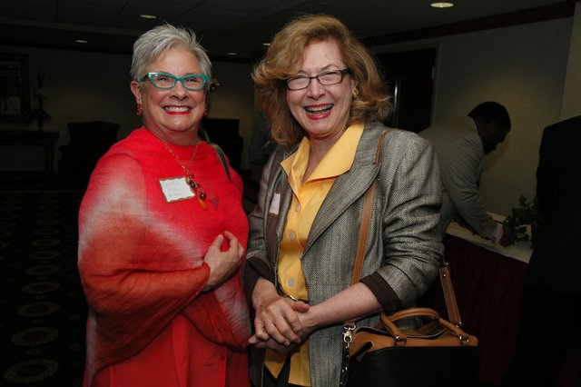 Cynthia Hamm and Kay Newman