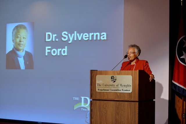 Dr. Sylverna Ford, dean of libraries