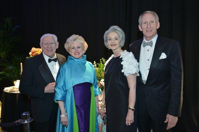 Mel & Debbie Litch, with Kathryn & Wells Greeley