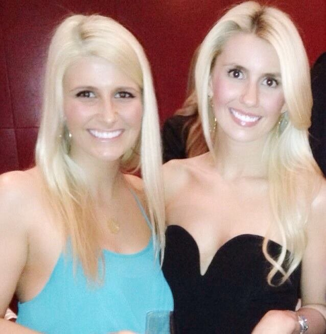 These two beautiful sisters, Lexis and Brittney, have lash extensions under control.