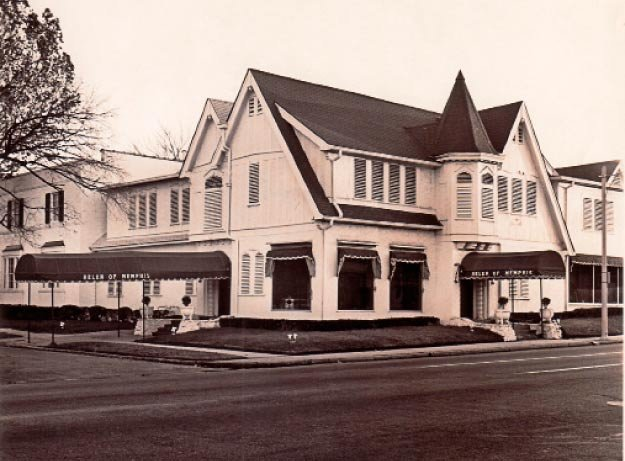 Helen of Memphis as it looked in the late 1950s