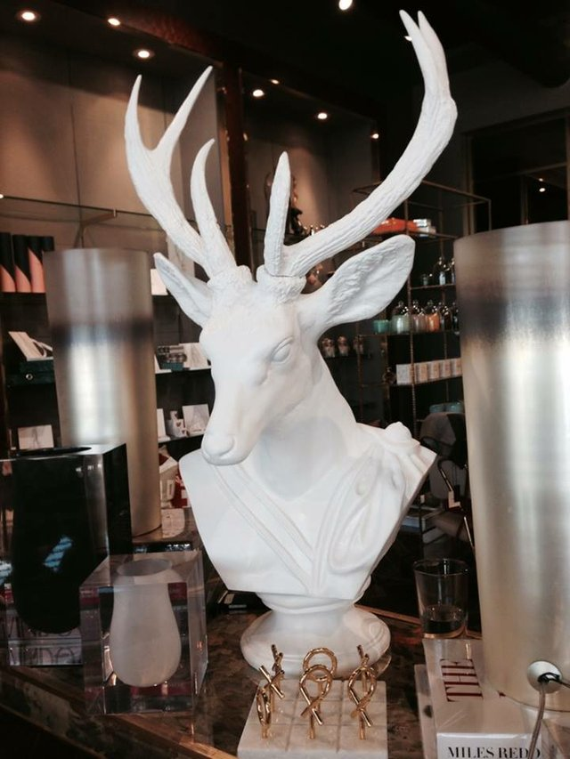 Here's a deer head I wouldn't mind having in my house.