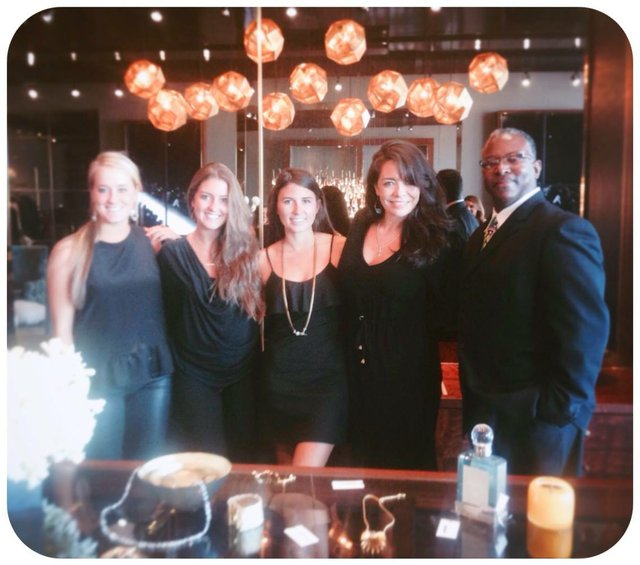 Kool & The Gang(ster Ladies). From L to R: Ashley Kimberlin, Elizabeth Martin, Taylor Dunaway, Ava Shumake, Warren Woods.
