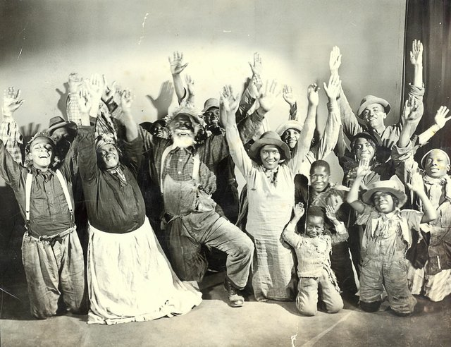 A publicity shot includes Memphians Georgia Woodruff (in front, second from left) and Robert Couch (second from right).