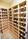 "The house features a ""wine closet"" on the second floor, appropriately sized for the couple's ""rightsized"" Trezevant home."