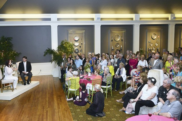 The Q&A with Priscilla at the Dixon Gallery and Gardens