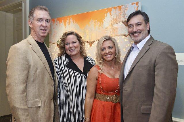 Michael and Landi Bohner, Dana and Lamar McCubbin