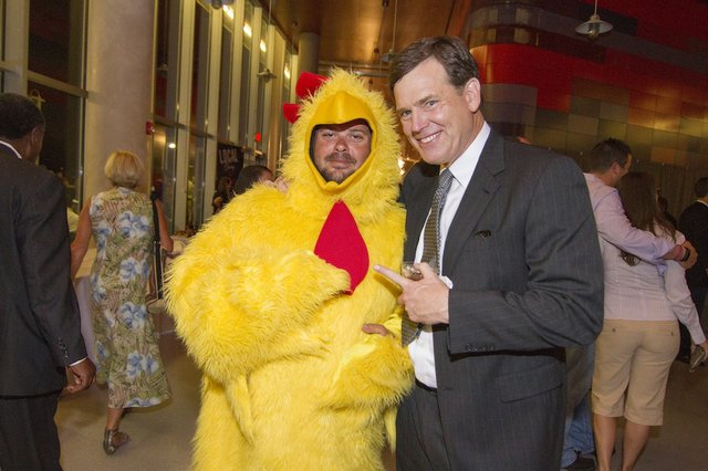 The Jack Pirtle's Chicken and WMC-TV's Joe Birch