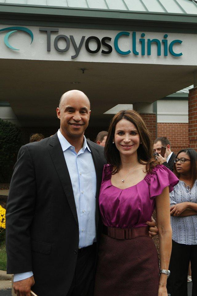 Drs. Rolando and Melissa Toyos