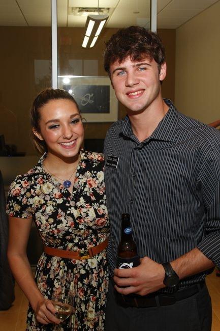 Alexanna Scott and Steven Schnell