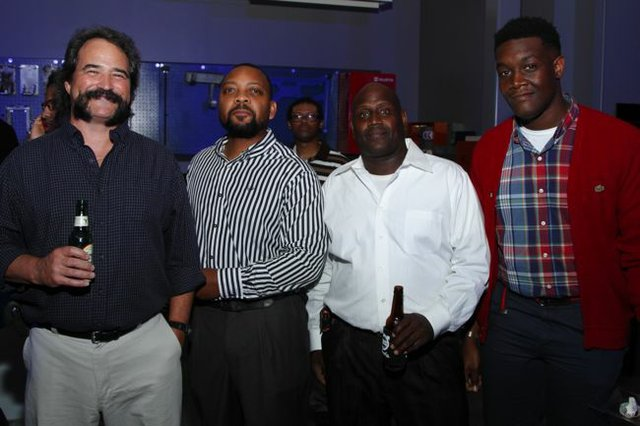 Butch Watkins, Joe Thomas, Martin Handy, and Derek Thomas