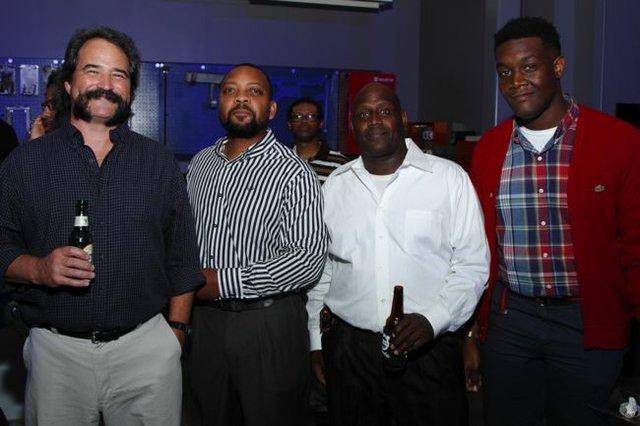 Butch Watkins, Joe Thomas, Martin Handy, and Derek Thomas