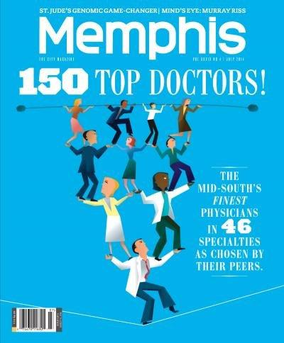 Memphis magazine July 2014