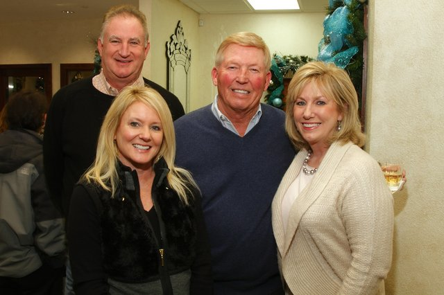Randy & Anne Mathis, Charlie & Angela Russell
