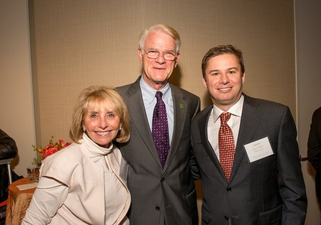 Julie Ellis, Shelby County Mayor Mark Luttrell, and Jason Yarbro