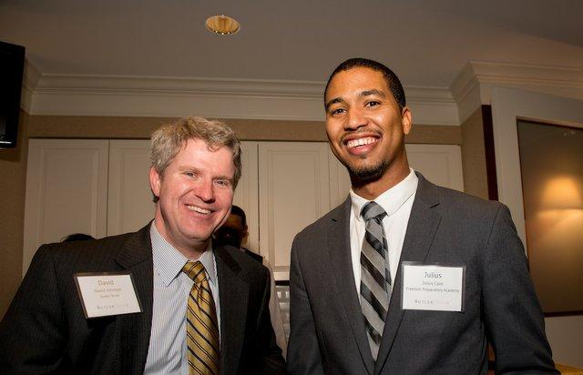 David Johnson and Julius Cave