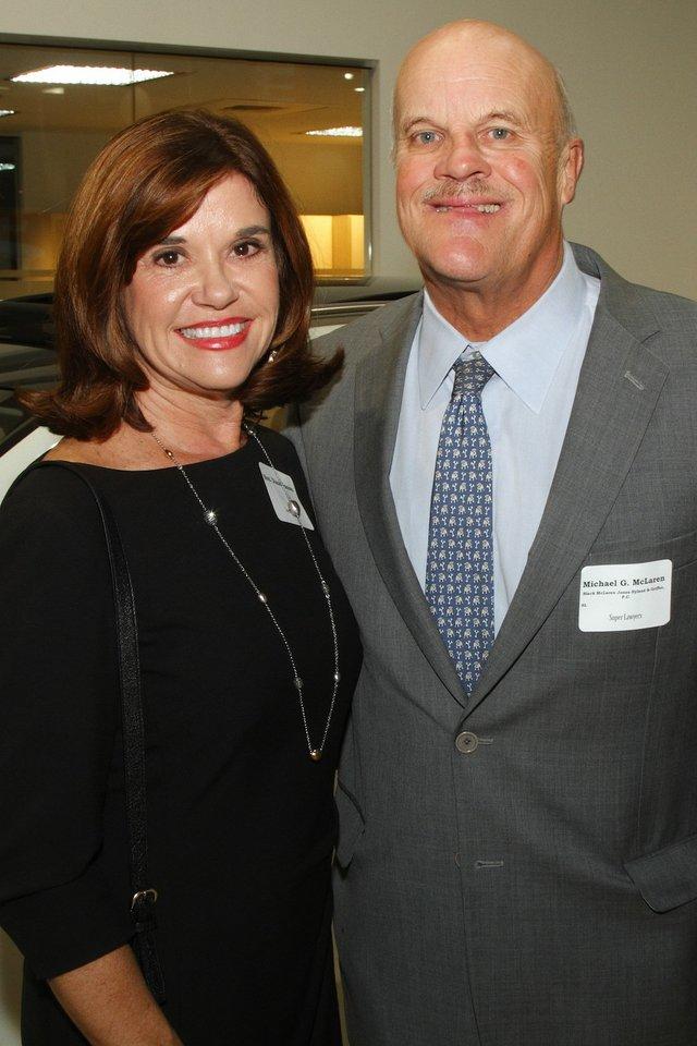 Diane Vescovo and Michael McLaren