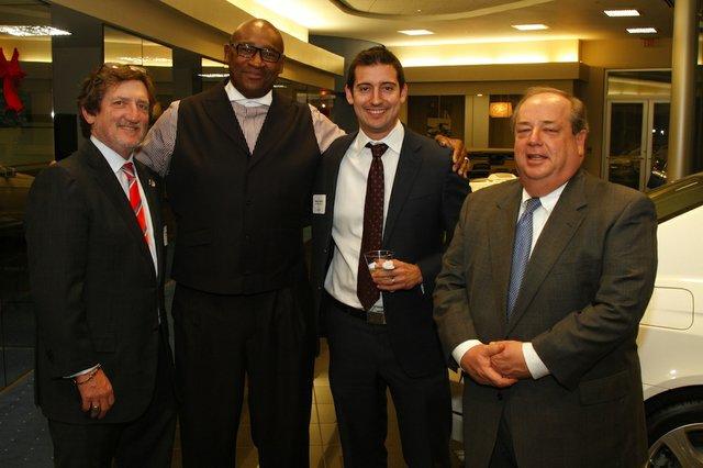 Leslie Ballin, McKinley Singleton, Blake Ballin, and Randy Fishman