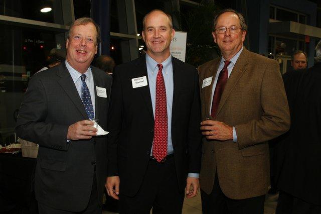 John Heflin, Matthew Thornton, and Robert Alvarez
